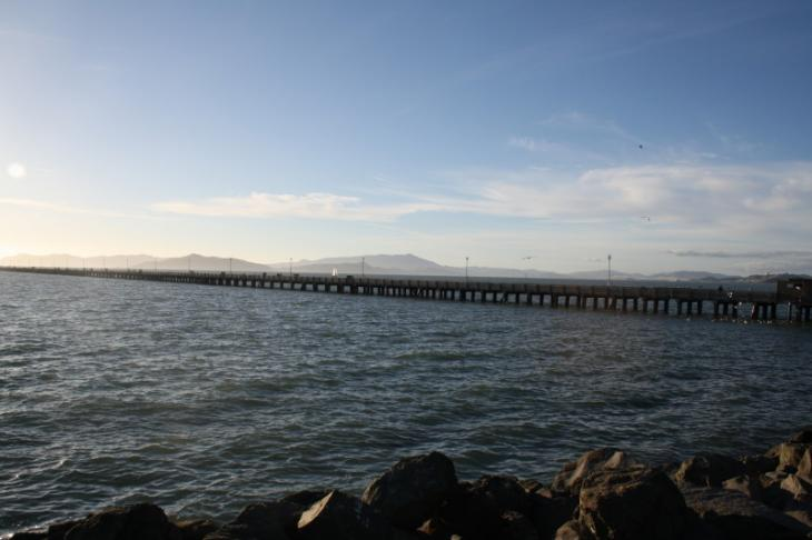 Pier near the Berkeley Marina