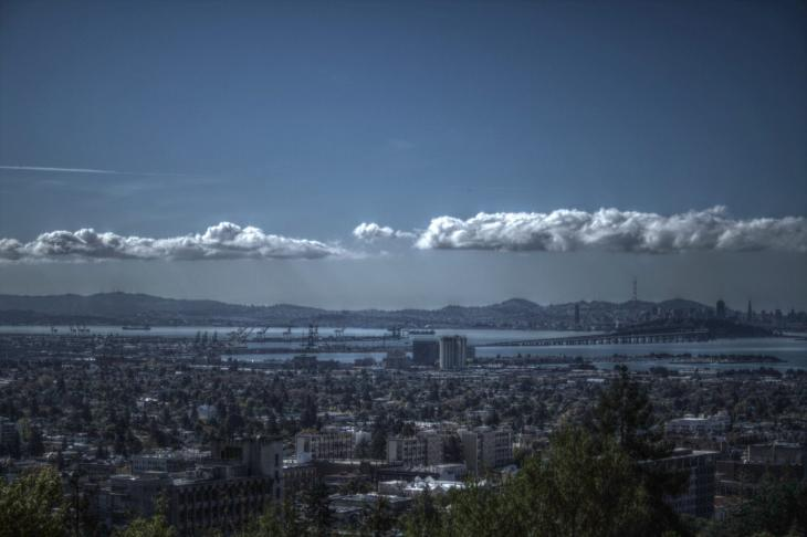 View from the Lawrence Berkeley National Laboratory, UC Berkeley (HDR)