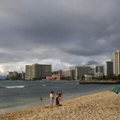 The beaches of Honolulu